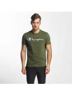 Champion T-shirt Cotton Graphic oliv
