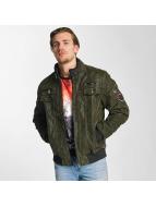 Cipo & Baxx Демисезонная куртка Maveric зеленый