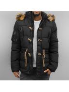 Cipo & Baxx Демисезонная куртка Maluhia черный