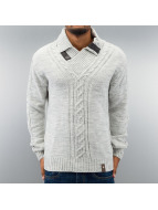 Cipo & Baxx Пуловер Madrid серый