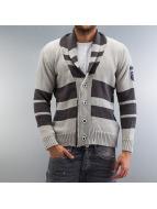Cipo & Baxx Cardigan Wallace Knit gray