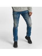 Cipo & Baxx dżinsy przylegające Hug niebieski