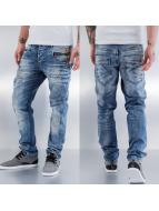 Cipo & Baxx Dżinsy straight fit Aron niebieski