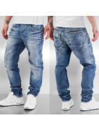 Cipo & Baxx Dżinsy straight fit Ole niebieski