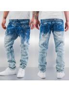 Cipo & Baxx Dżinsy straight fit Sew niebieski