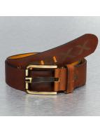 Cipo & Baxx Gürtel Leather braun