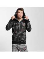 Cipo & Baxx Hoodies con zip Akron nero