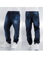 Cipo & Baxx Jean Coupe Droite Shine bleu