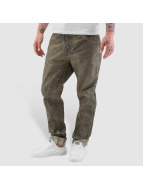Cipo & Baxx Ebro Straight Fit Denim Jeans Khaki