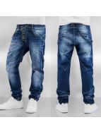 Cipo & Baxx Jeans Straight Fit Lipsca bleu