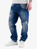 Cipo & Baxx Jeans Straight Fit Regular bleu
