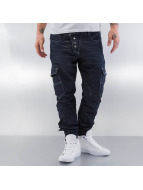 Cipo & Baxx Jeans Straight Fit Button Fly bleu