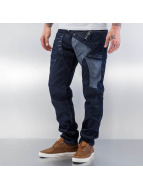 Cipo & Baxx Jeans Straight Fit Tight bleu