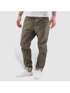 Cipo & Baxx Jeans Straight Fit Ebro kaki