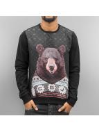Cipo & Baxx Jumper Sweatshirt black