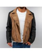 Cipo & Baxx Koženky/ Kožené bundy Faux Leather hnedá