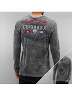 Cipo & Baxx Longsleeve Play Nice grey