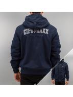 Cipo & Baxx Manteau hiver Polar bleu
