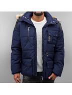 Cipo & Baxx Manteau hiver Tory bleu