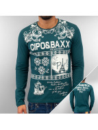 Cipo & Baxx Pitkähihaiset paidat Eternity vihreä