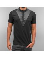 Cipo & Baxx Poloshirt PU schwarz