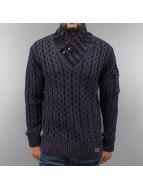 Cipo & Baxx Pullover Kai blau