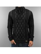 Cipo & Baxx Pullover Dave schwarz
