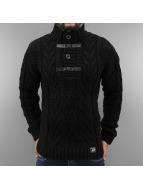 Cipo & Baxx Pullover Knit schwarz