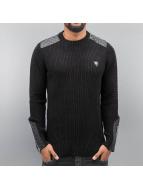 Cipo & Baxx Pullover Mike schwarz
