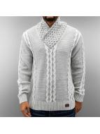 Cipo & Baxx Pullover Sunday weiß