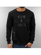 Cipo & Baxx Pulóvre Star èierna