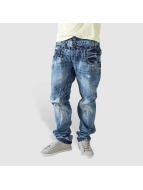 Cipo & Baxx Straight Fit Jeans Deering blå