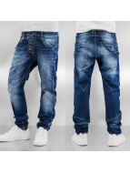 Cipo & Baxx Straight Fit Jeans Lipsca blå