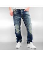 Cipo & Baxx Straight Fit Jeans Seam II blå