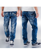 Cipo & Baxx Straight Fit Jeans Leon blau