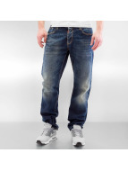 Cipo & Baxx Straight Fit Jeans Wash blau