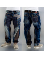 Cipo & Baxx Straight fit jeans Safe blauw