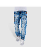 Cipo & Baxx Straight fit jeans Sinno blauw