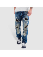 Cipo & Baxx Straight fit jeans Ultimate blauw