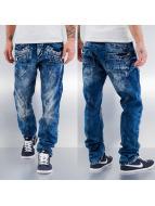 Cipo & Baxx Straight fit jeans Leon blauw