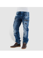 Cipo & Baxx Straight fit jeans Santo blauw