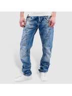 Cipo & Baxx Straight fit jeans Gorica blauw