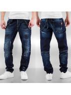 Cipo & Baxx Straight fit jeans Nankin blauw