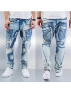 Cipo & Baxx Straight fit jeans Ferenc blauw