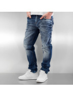 Cipo & Baxx Straight fit jeans Washed blauw