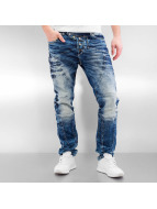 Cipo & Baxx Straight fit jeans Saem blauw