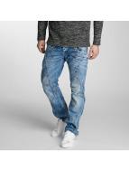 Cipo & Baxx Straight fit jeans Flatey blauw