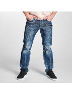 Cipo & Baxx Straight fit jeans Jarule blauw