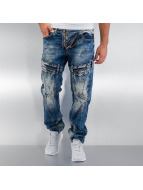 Cipo & Baxx Straight Fit Jeans Kiribati blue