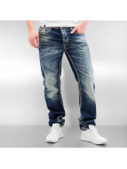 Cipo & Baxx Straight Fit Jeans Seam II blue